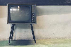 téléviseur old school